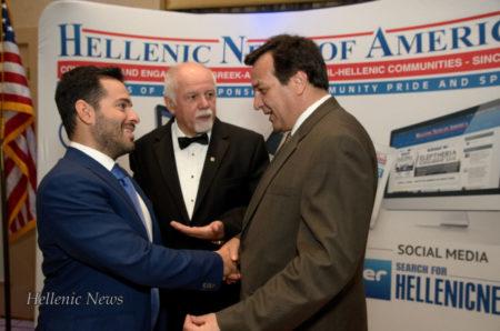 L-R: Dr. Gregori Foussas, Paul Kotrotsios and George Klingos
