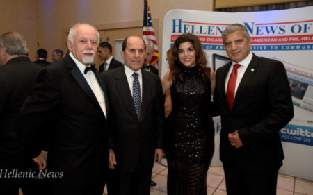 L-R: Paul Kotrotsios, Dr. Stefanos Foussas, Aphrodite Kotrotsios and Dr. George Patoulis