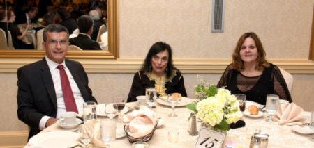 L-R: Chris Papadopoulos, Lilli Bita and Anita Papadopoulos