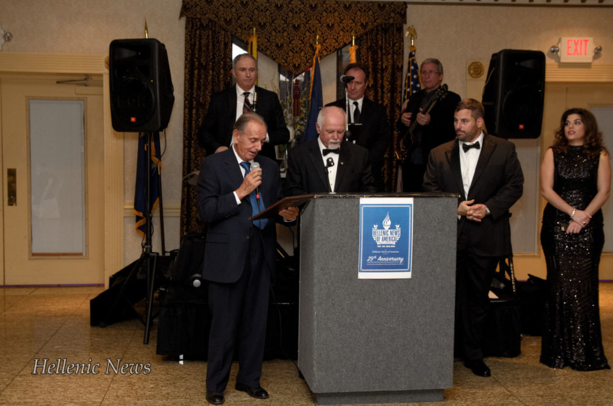 Honoree, Ted Tsafatinos, Hellenic American National Council