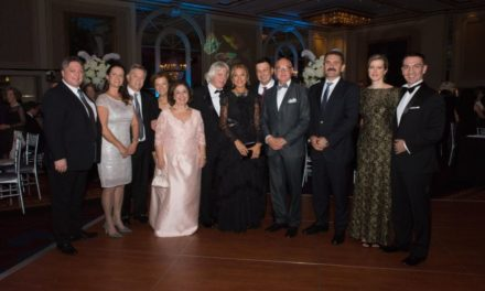 """Eleni Bousis, Chair of HCRF's Founding Board: Hippocratic Cancer Research Foundation Gala Raised  Over $950,000 to Benefit Lurie Cancer Center. Thank you for giving us the """"The Wings to Cure!"""""""