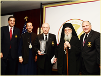 Theofanis V. Economidis Receives Nicholas J. Bouras Award, Six Leadership 100 Members Invested As Archons