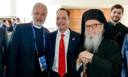 Order of Saint Andrew Congratulates Archon Reince Hercules Priebus on his selection as White House Chief of Staff