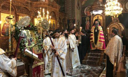 Τελέστηκε η Ακολουθία της Τριθέκτης των Χριστουγέννων για πρώτη φορά στην Ιερά Μητρόπολη Κίτρους, Κατερίνης και Πλαταμώνος