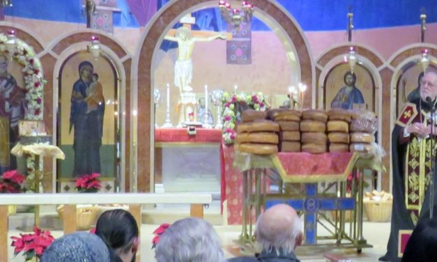 St. Nicholas Remembered as Santa Claus at Greek Orthodox Vespers