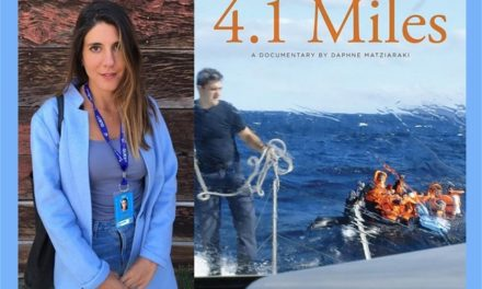 Greek Filmmaker's Documentary – 4.1 Miles – Nominated for Documentary (Short Subject) for Oscars 2017