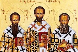 Το φωτεινό παράδειγμα παιδείας των Τριών Ιεραρχών