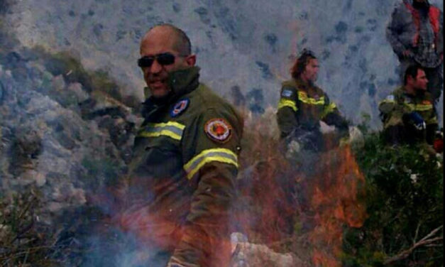 Please help the volunteer firemen on the island of Chios