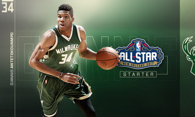 GIANNIS ANTETOKOUNMPO NAMED EASTERN CONFERENCE STARTER FOR 2017 NBA ALL-STAR GAME