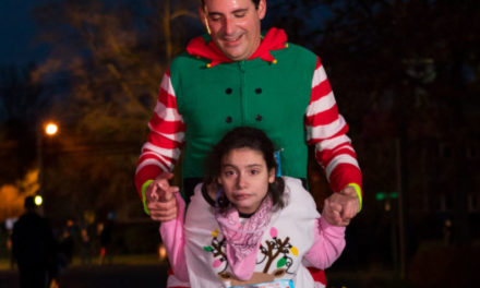 AHEPA Trenton Chapter #72 Rallies Behind Special Olympics Athlete, Maria Passalaris in Jingle All The Way 3K