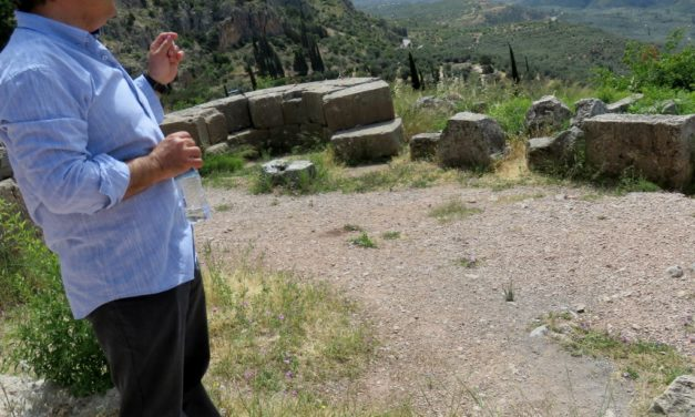 On the Road in Greece: Greek Colonies Legacy in Delphi