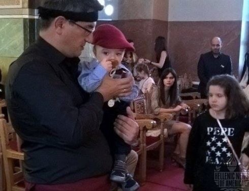 A Traditional Baptism of the Peloponnese, Greece