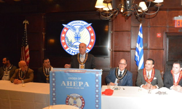 AHEPA's Historic Delphi Chapter Initiates Another 35 New Members
