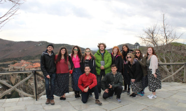 Paideia spring 2017 semester students at Greek Universities