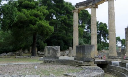 On the Road in Greece: Excursion to Olympia  By Catherine Tsounis