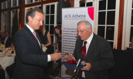 Excellence and Pride Blend with the Glow of Fellowship at ACS Athens Alumni Award Dinner