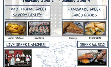 The annual St. George Cathedral of Philadelphia Food Festival will be up and running on June 1st for 4 days