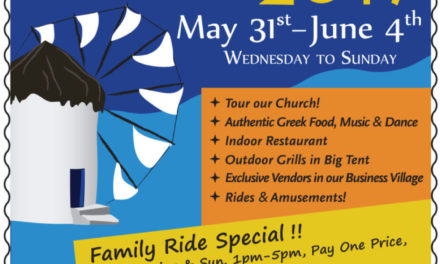 The Grecian Festival of Saint Sophia Greek Orthodox Church is coming up and you are invited!