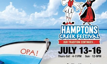 Hamptons Greek Festival will be held July 13-16, 2017