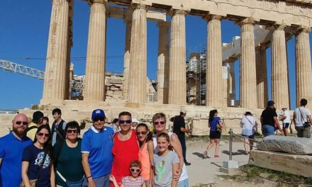 A Family Vacation in Greece  By John & Linda Paitakes