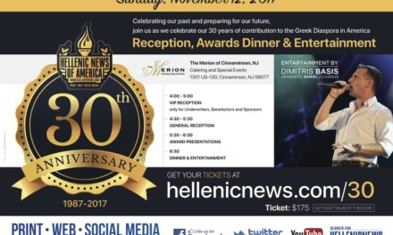 Newspaper HNA Celebrates 30th Anniversary on Sunday, November 12, 2017 at the Merion