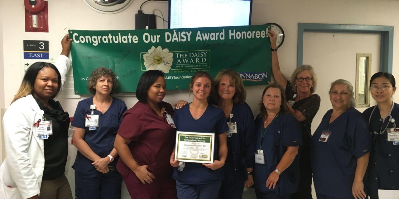Crozer-Keystone Recognizes Jacquelyn Madden, R.N. as a DAISY Award Recipient
