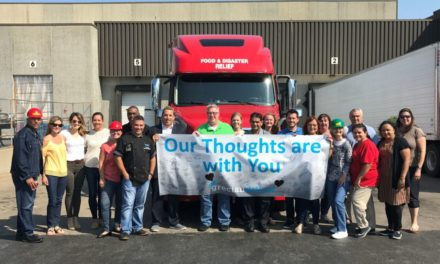 GRECIAN DELIGHT DONATES MORE THAN 20,000 LBS OF FOOD TO HURRICANE RELIEF EFFORTS