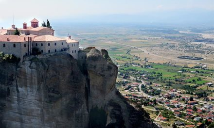 Meteora:  Climbing the Monasteries of the Divine