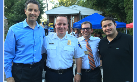 From the Desk of US Congressman John Sarbanes. National Night Out gave me the opportunity to visit several communities.