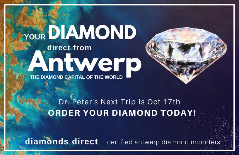 Local Jeweler Heading to Antwerp For Diamonds