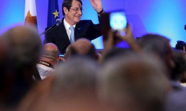 Cyprus president, 71, declares bid for second 5-year term