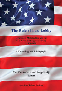 The Rule of Law Lobby: Grassroots Mobilization and the U.S. Arms Embargo on Turkey – 1974-1978