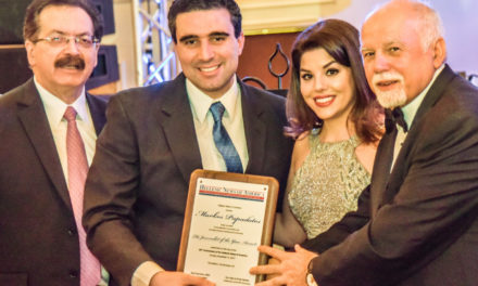 Markos Papadatos honored by the Hellenic News of America at 30th anniversary GALA, named 'Journalist of the Year'