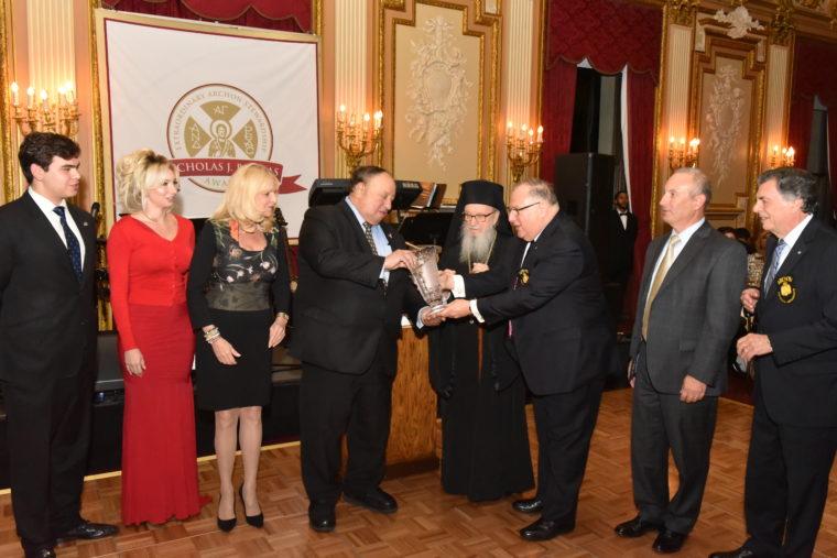 John A. Catsimatidis Receives Nicholas J. Bouras Award