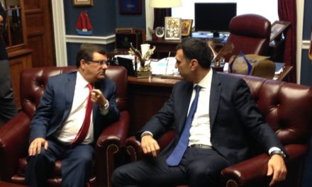 Bilirakis Meets with Key Leader of Greek Parliament to Discuss Potential for Greater Partnership