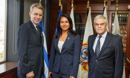 Congresswoman Tulsi Gabbard Visits Greece