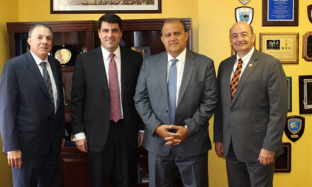 AHI Welcomes Public Officials to Hellenic House
