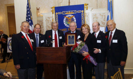 15th Annual Luncheon at the Westchester Country Club in Rye, New York honoring the chapters Man of the Year, Dr. Nicholas Romas