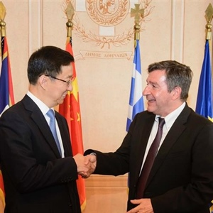 Athens and Shanghai Strengthen Trade, Tourism Relations