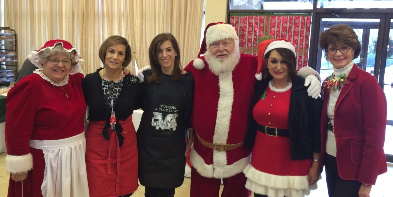 Ladies Philoptochos Society of St. Luke's Boutiques Bazaar Brings Greece and Christmas Together
