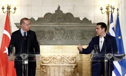 Δηλώσεις του Πρωθυπουργού, Αλέξη Τσίπρα και του Προέδρου της Δημοκρατίας της Τουρκίας, Ρετζέπ Ταγίπ Ερντογάν, κατά τη συνάντησή τους στο Μέγαρο Μαξίμου