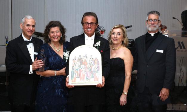 Honoring Helen and Louis Nicozisis at the Inaugural OCMC Celebration Gala