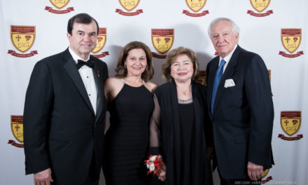 """Hellenic American Academy Hosts 2018 Annual Gala """"The Time is Now"""" Honoring George D. Behrakis and Peter Maroutsos"""