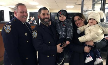 Extraordinary Act of Heroism by Officer Constantine Saoulis Revealed at 111th NYPD Meeting