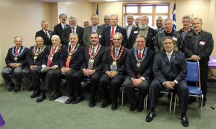 An AHEPA Chapter is born in Middletown, New York