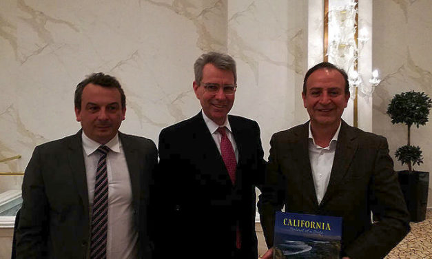 US ambassador talks with mayor of Ioannina during visit to NW Greece