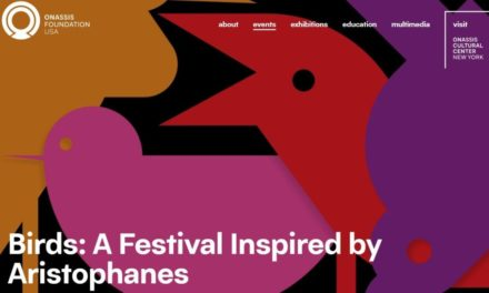ONASSIS CULTURAL CENTER NEW YORK PRESENTS CITYWIDE FESTIVAL, BIRDS: A FESTIVAL INSPIRED BY ARISTOPHANES