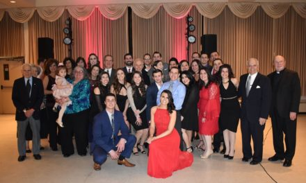 Phocion #44 Sons of Pericles and Sophia #48 Maids of Athena in Albany, NY celebrated their 40th Annual Valentine's Day Dance