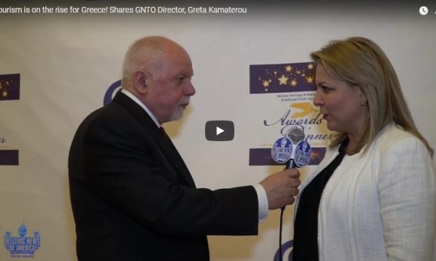 Tourism is on the rise for Greece! Shares GNTO Director, Greta Kamaterou