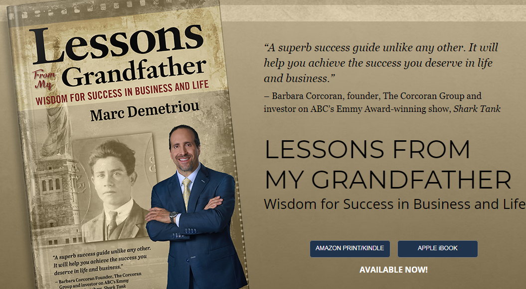Greek Grandfather's life lessons are a blueprint to success